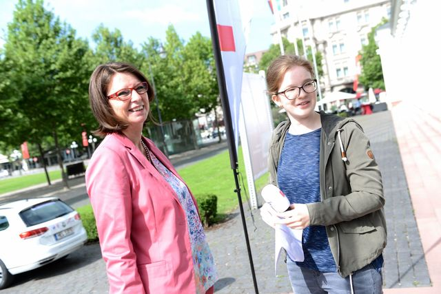 Ministerin Hinz im Interview
